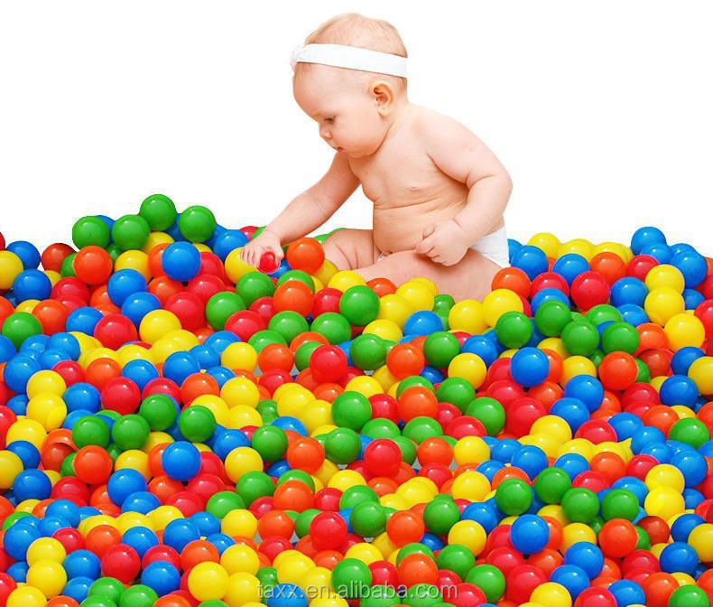 Soft Plastic Colorful Ocean Ball Baby Kids Fun Toy Swim Pit Game