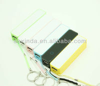 2013 new arrival hot sales yellow perfume power bank 2800mah & 6 connector , USB charging cable , gift box , 1 year warranty