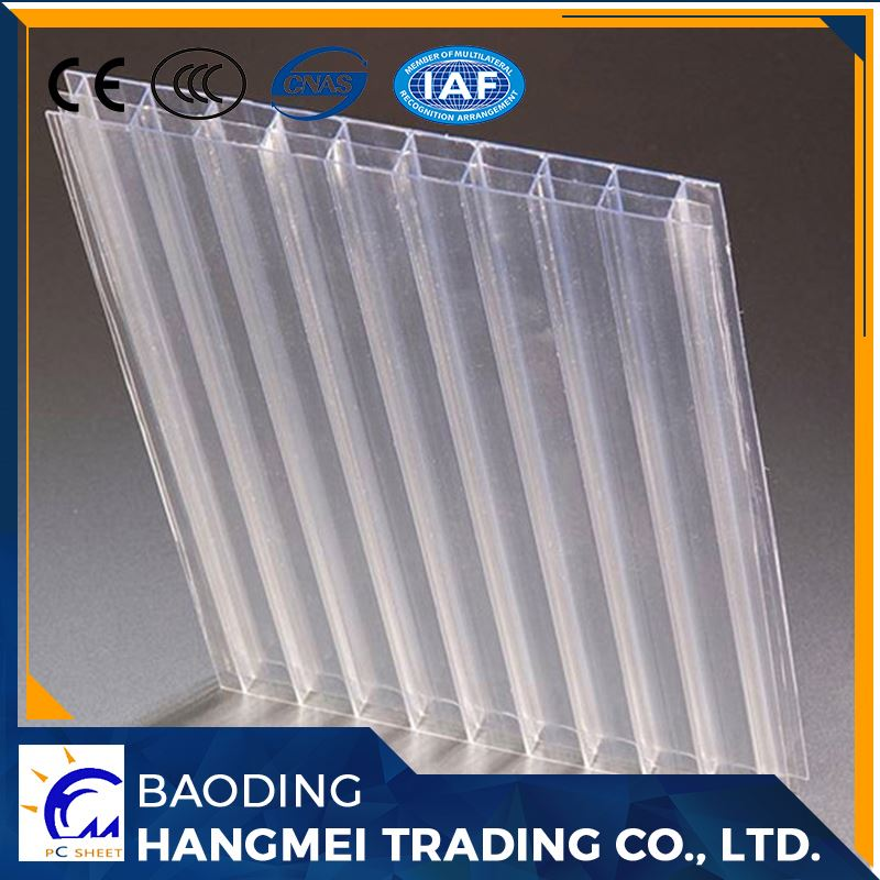 Transparent color clear polycarbonate roofing sheeting price