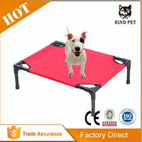 new super high quality large colorful rectangle elevate bunk pet bed