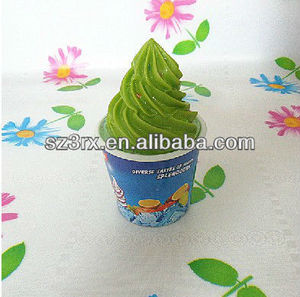 ice cream plastic piggy bank;ice cream saving bank;plastic vinyl money bank