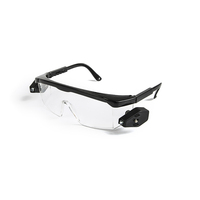 G013 New design safety glasses with led, safety glasses with led light, safety glasses z78.1 with high quality