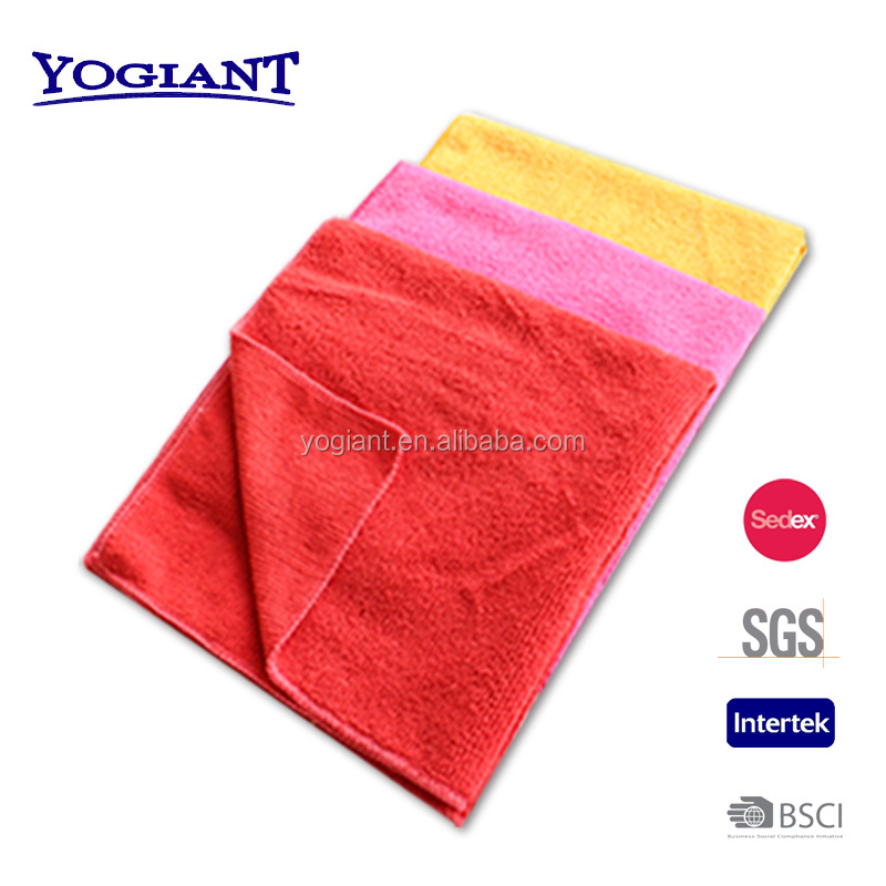 Microfiber Terry Cloth Multi-Purpose Microfiber Cleaning Cloth Solid Color For Car With High Quality