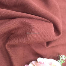 NEW ITEM TTR SPANDEX TWILL PLAIN DYED FABRIC