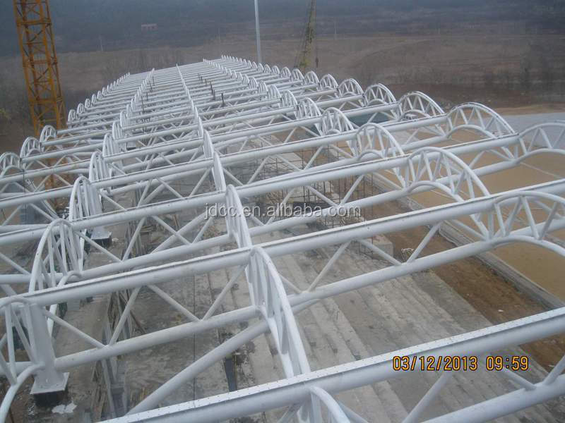 Low Cost and Fast Assembling Steel Structure Stadium