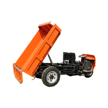 high quality diesel powered tricycle dump for mining