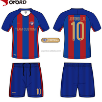 custom wholesale cheap sublimated soccer jersey made in china
