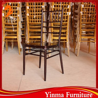 2015 Modern wedding chiavari chair/tiffany chair steel cushion chairs