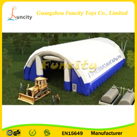 Giant Inflatable Air Support Dome Building Tent , Cube Inflatable Air Structure , Tube Structure Tent