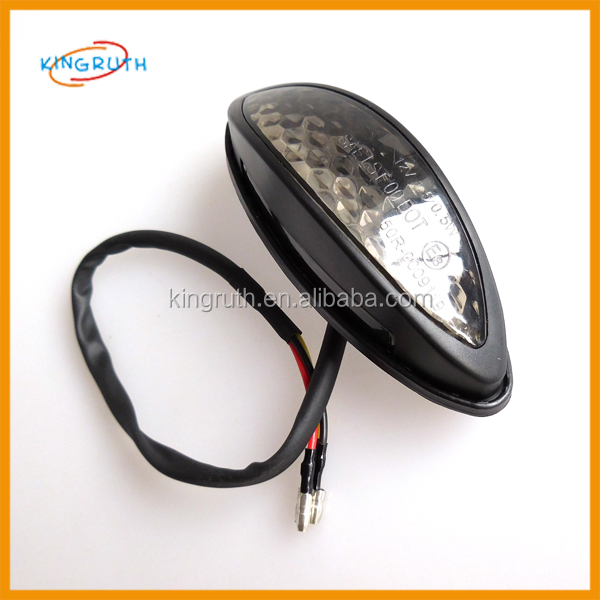 motorcycle light 6v Rear Brake Stop Light License