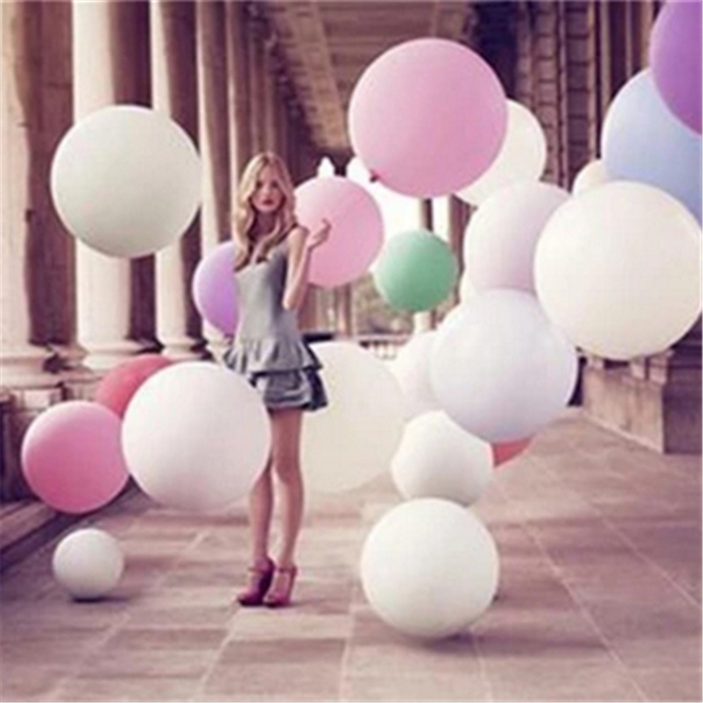 1pcs globos Super Large 70cm Matte Latex balloon Float air balls inflatable wedding birthday party decoration toys