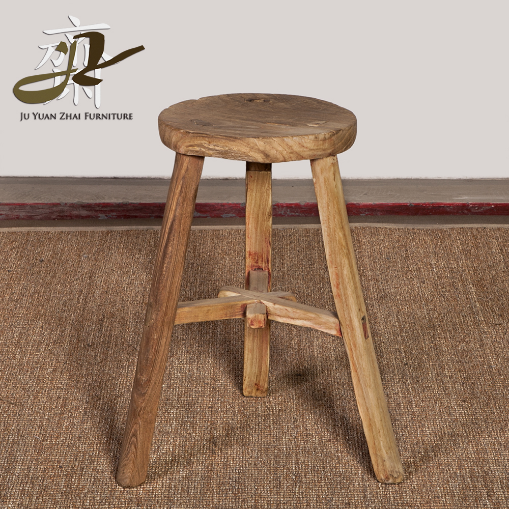 Wood Stools Product ~ Wholesale hotselling old wooden round stool buy