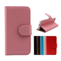 mobile phone accessory leather flip case for huawei ascend D2 cover