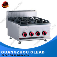 Commercial Heavy Duty Freestanding Electric Stove 4 Burner Gas Cooker With Oven