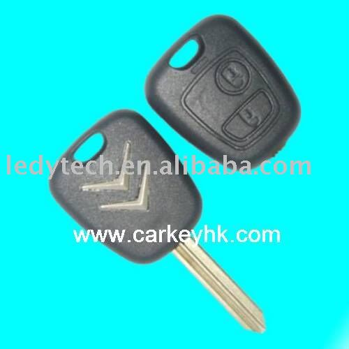 Citroen 2 buttons remote key ID46 chip 433Mhz