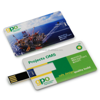 Promotion credit card usb flash drive 8gb with good quality
