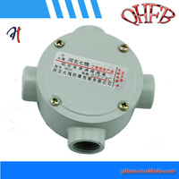 electrical round waterproof outlet junction box