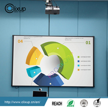 Optical finger touch interactive whiteboard, multi-touch board