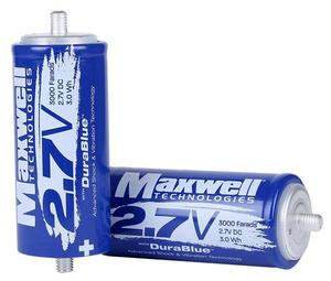 MAXWELL DuraBlue 3000 farad super capacitor hybrid car battery car audio capacitor 2.7V 3000F
