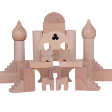 High Quality Wooden Building Blocks Toys Educational Wooden Garden Game Toy