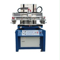 single color manual screen printing machine for metal,glass