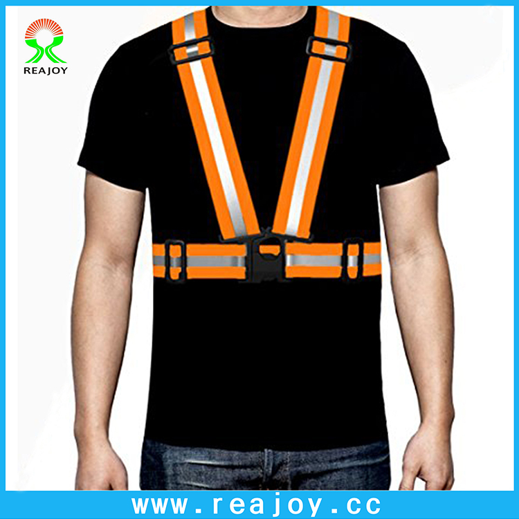 Wholesale reflective high visibility running cycling gear