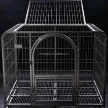 cheap black metal stainless steel parrot bird cage