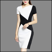 Custom Girl New Model Formal Suit Women Party Casual Wear Lady Sexy Fashion Dress for Fall