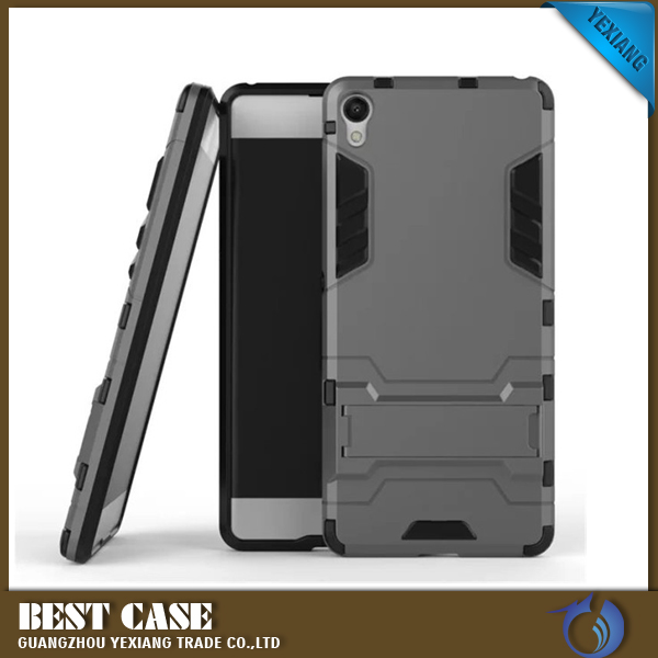 Robot Kickstand Shockproof Cases For Sony xperia xa f311 Ultra thin Armor Cover