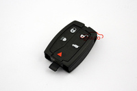 Smart key blank 4button panic key shell 5button key cover for Landrover LR2
