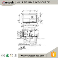 sharp 6.5 inch transparent TFT LCD LQ065T9BR51 400(RGB)*240