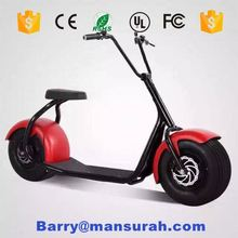 60V/12AH 20AH citycoco fat tire electric scooter with 1000W big motor power max speed 25KM/H