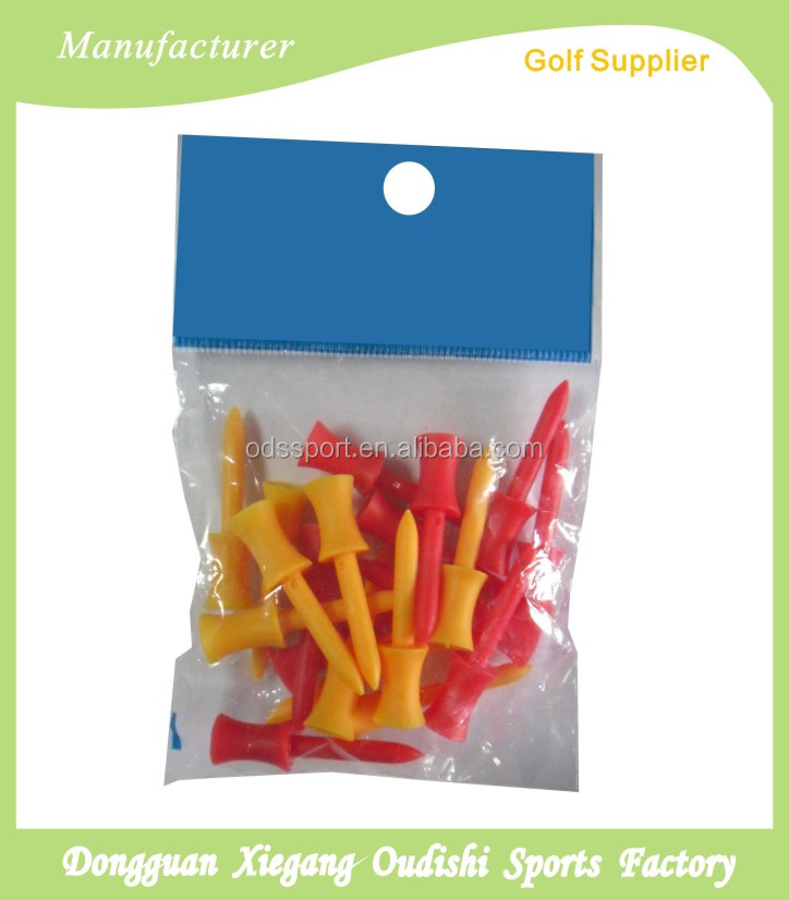colorful Plastic Golf Step Tees
