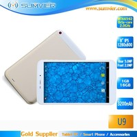 "Cheap OEM mini pc 8"" MTK6592 Octa core IPS 1G+16G Android 4.4 Smart Tablet Pc"