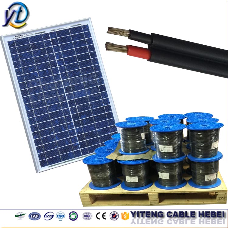 Single/Twin Core Tinned copper conductor solar AC DC kabel solar power cable