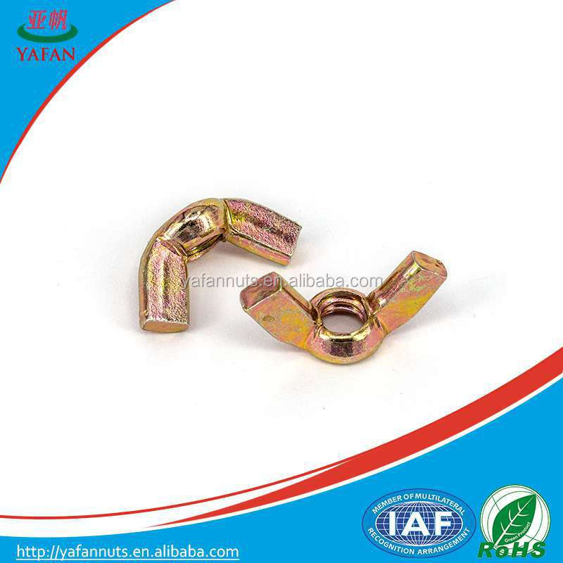 M8 brass wing nut/bicycle wing/tent nut/butterfly wing nuts