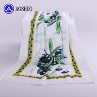 Heat Transfer Print Tea Towel Microfiber