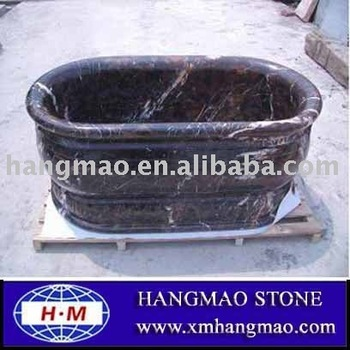 carving stone bathtub