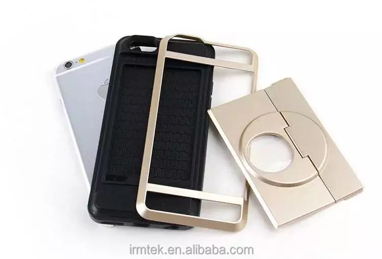 Insert Card With Bracket Cell Phone Cover Case For Iphone7/6/5 And For SamsungS7/S7edge/Note7