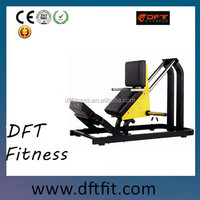 DFT-710 popular Hack Squat with lowest price, commercial fitness equipment for body building