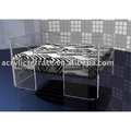 Acrylic Lucite Pet Bed