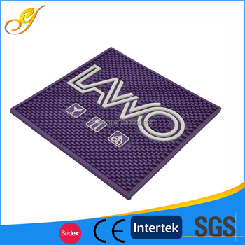 High Quality Easy Cleaned Popular Rubber Beer Bar Mats
