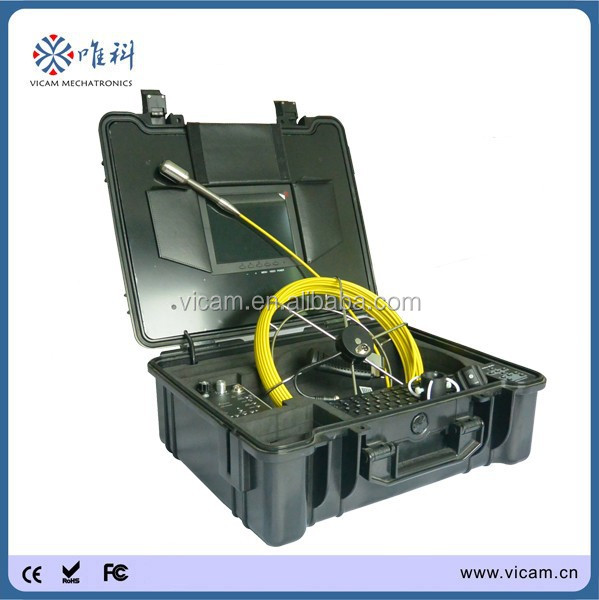 Waterproof Boroscope Video Camera Sewer Piping Inspection System with 20m cable