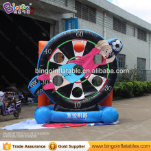 Hot sale sport type inflatable shooting soccer darts with cheap price