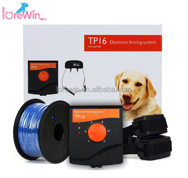 LoreWin TP16 New Pet product dog GPS tracker anti lost electronic outdoor Pet training product cool design dog fences electric