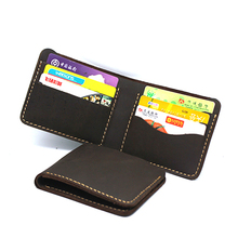 W8020 American Natural Leather Handmade Wallet for Men