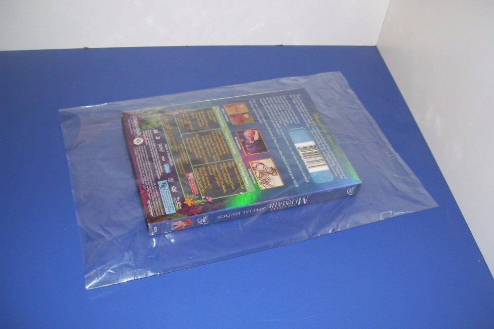 Flat Poly Bag 1MIL or Customized Flat Open Top Plastic Poly Bag For T Shirt