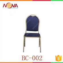 Hot sale modern style cheap metal banquet hall chairs and tables for sale