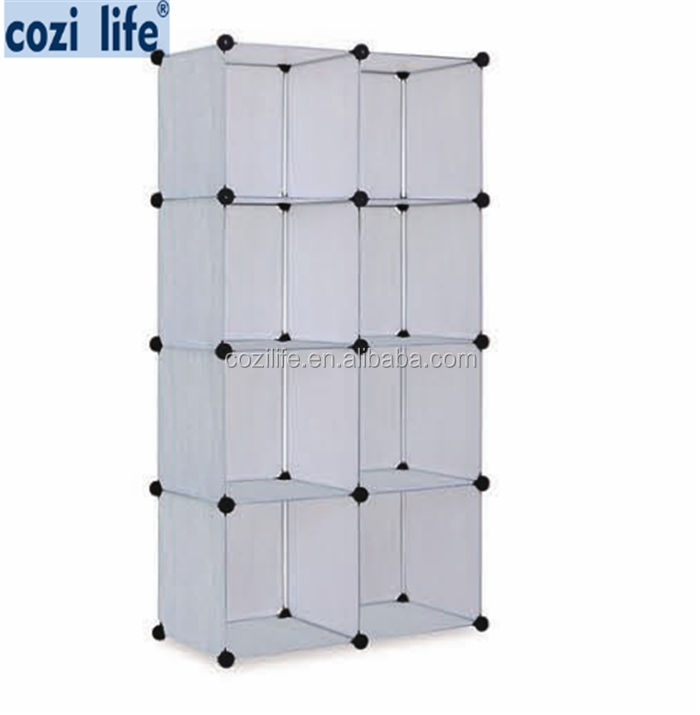 For clothes shoes bags plastic diy storage cube cabinet model plastic wardrobe