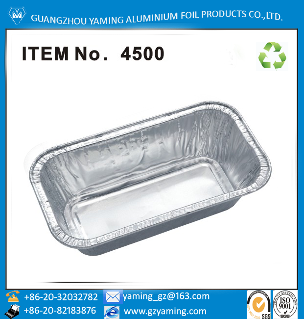 foil containers cake loaf pan bakery aluminium foil container cake baking pan